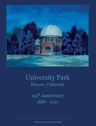 University Park 125th Anniversary Poster